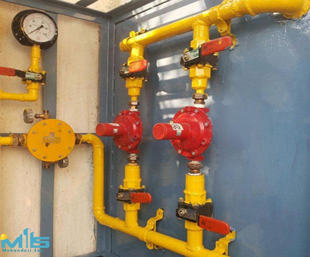 خدمات لوله کشی گاز
