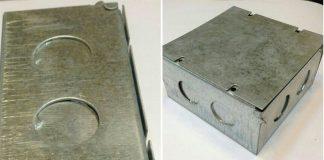 جعبه تقسیم آلومنیومی