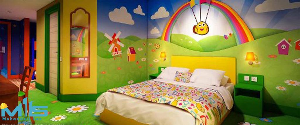 طراحی دکوراسیون اتاق کودک