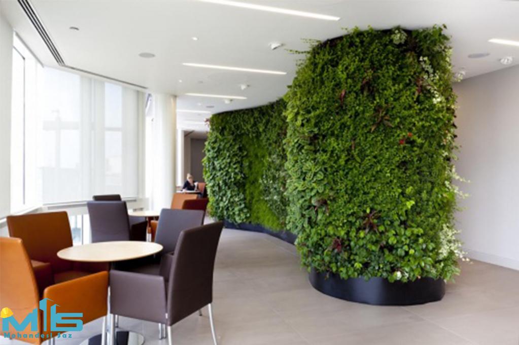 دیوار سبز هیدروپونیک