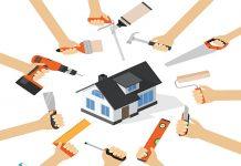 پیمانکار بازسازی خانه