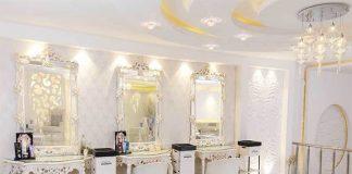 دکوراسیون داخلی آرایشگاه زنانه