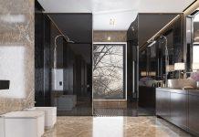 طراحی داخلی سرویس بهداشتی منزل
