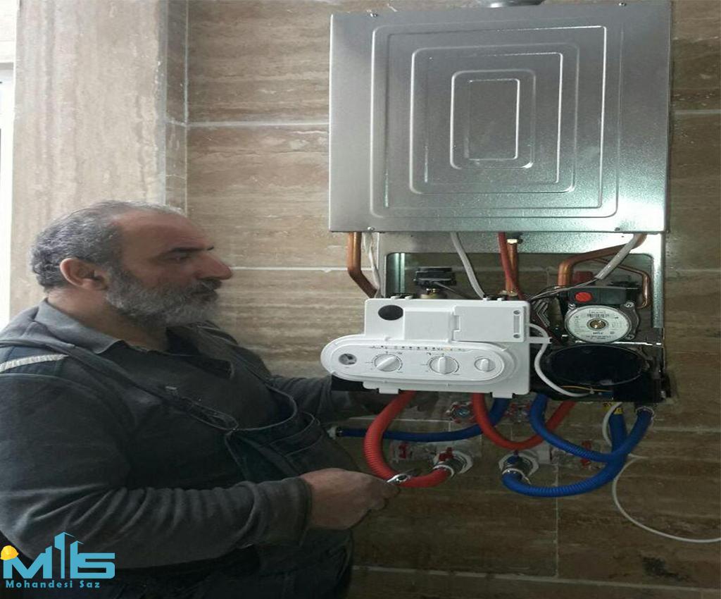 نصب پکیج ایران رادیاتور