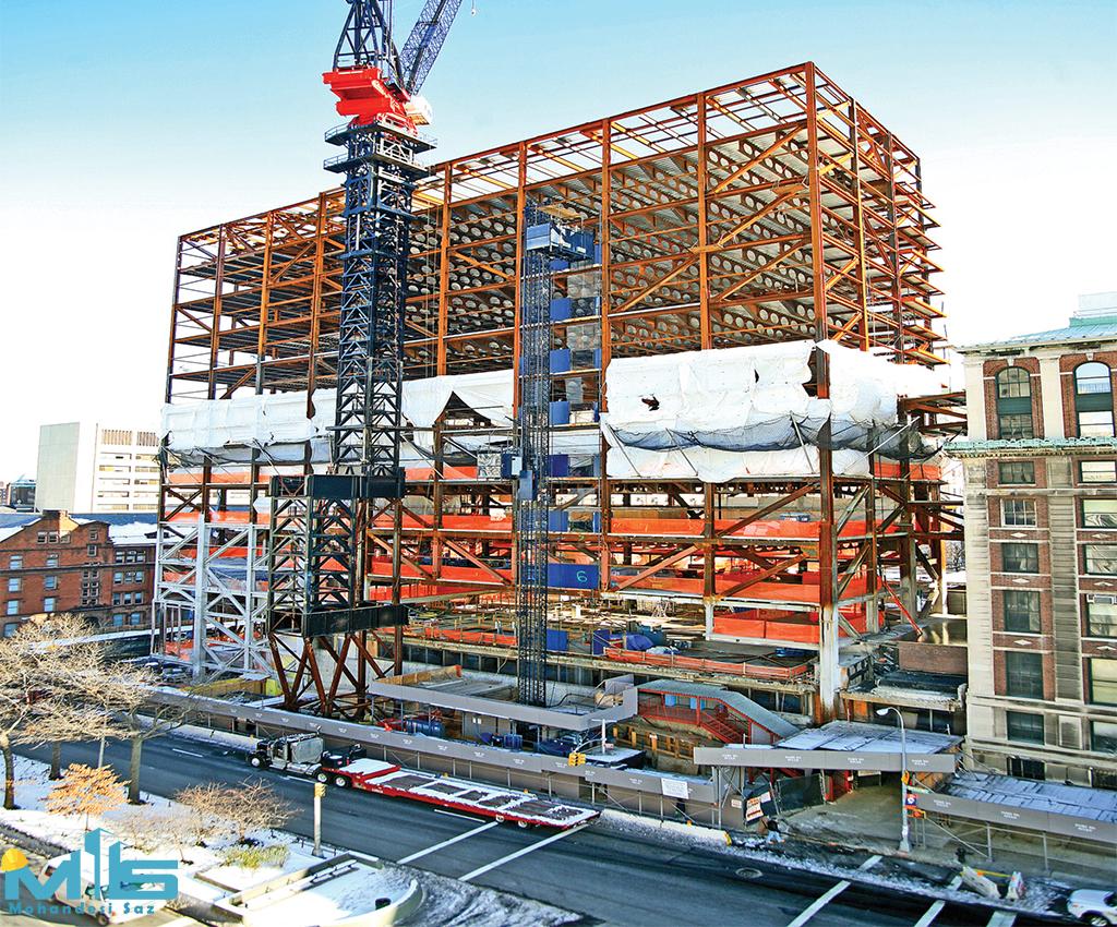 طراحی سازه ساختمان