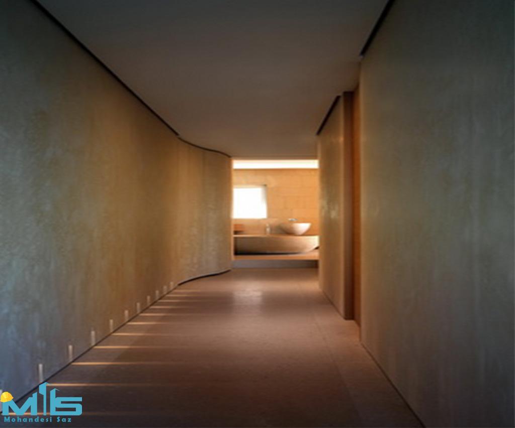 نور مخفی در سقف
