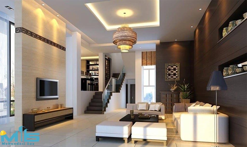 انواع چراغ های ساختمان مسکونی