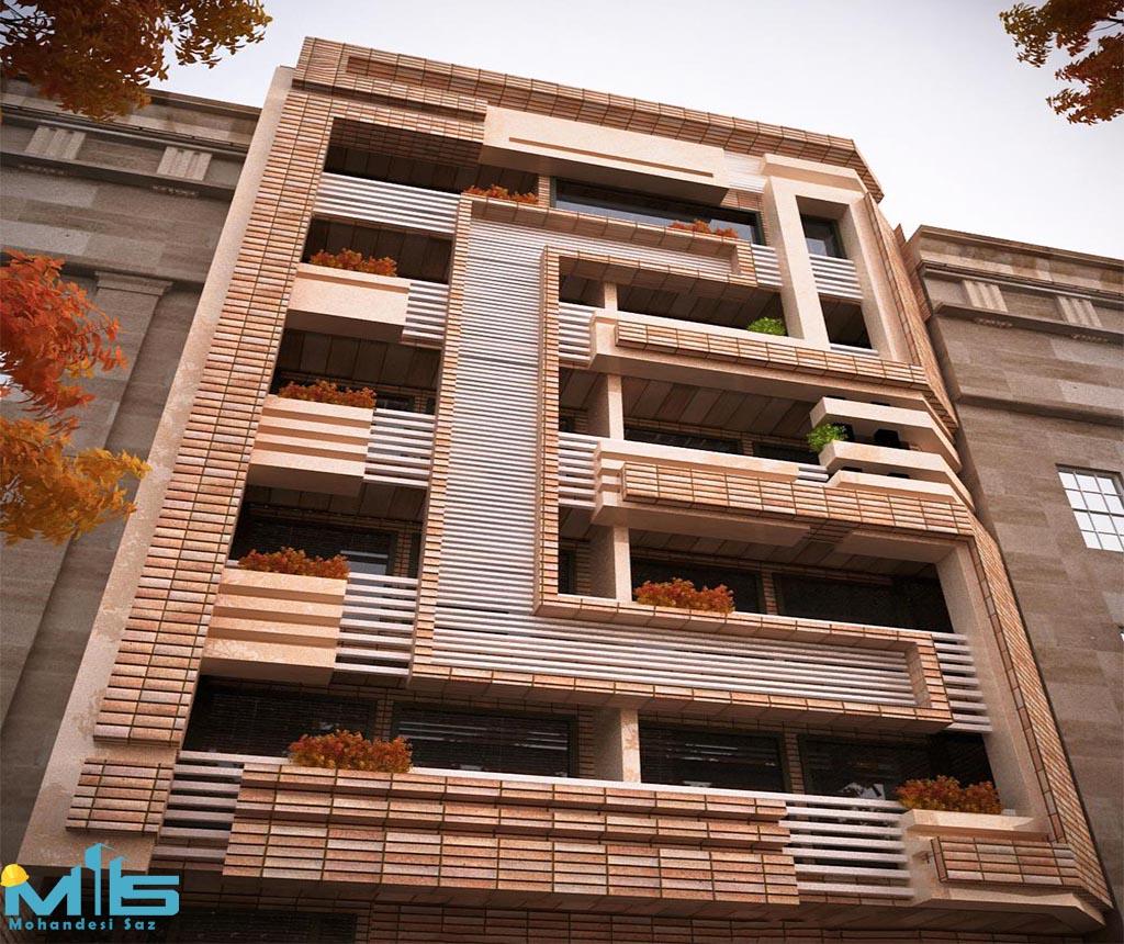 ارزان ترین نمای ساختمان