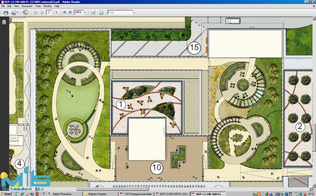 طراحی روف گاردن در تهران