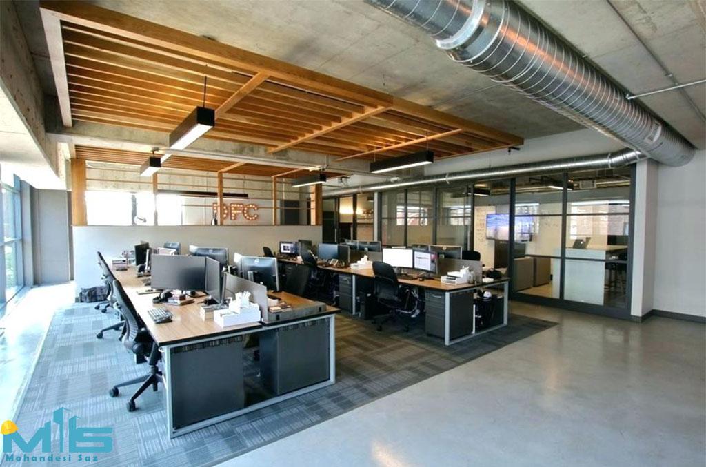 دکوراسیون داخلی فضاهای اداری