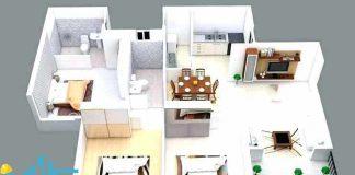 اندازه های استاندارد فضا ها در طراحی