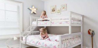 طراحی تخت خواب دو طبقه در دکوراسیون داخلی