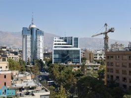 نمای مدرن در تهران