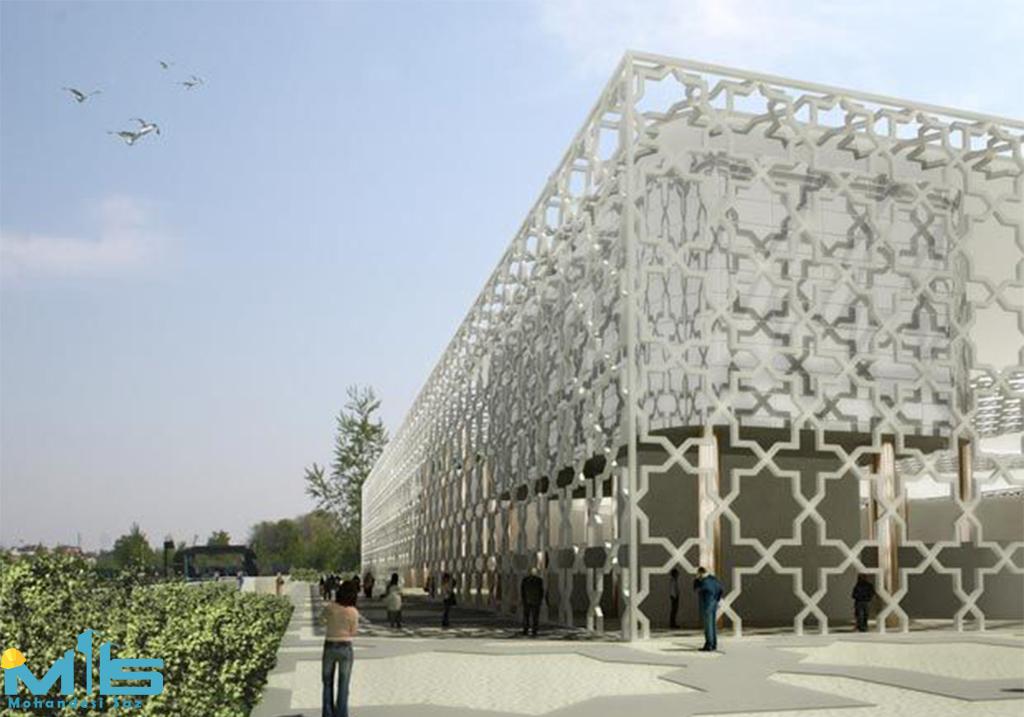 طراحی نمای اسلامی