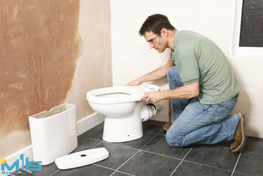 هزینه بازسازی توالت