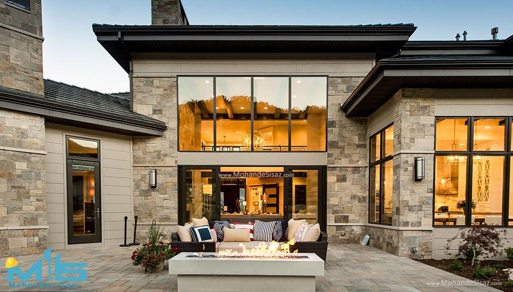 20 نمونه نمای ساختمان مسکونی