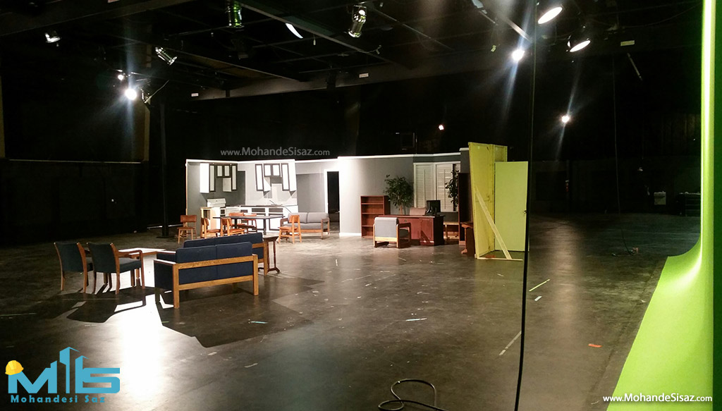 طراحی و ساخت اتاق شو تلویزیونی